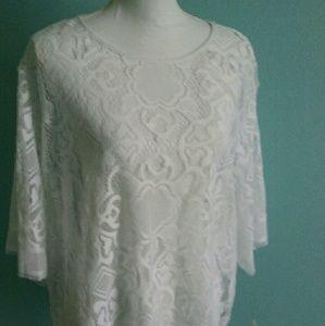 Lace Tunic Plus size